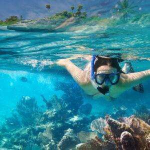 Underwater Snorkeler
